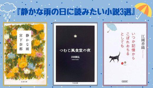 【梅雨におすすめ】〜静かな雨の日に読みたい小説3選〜